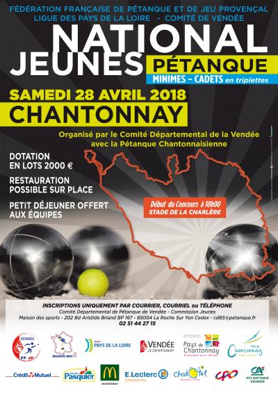 Inscription National Jeunes Chantonnay